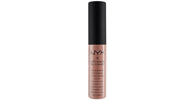 8. NYX Soft Matte Lip Cream, London