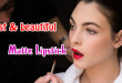 Best and beautiful matte lipstick 2015