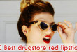 10 Best drugstore red lipsticks